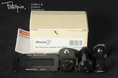Mamiya 135 Panoramic Adapter Kit AD701 for Mamiya 7ii with box (mint~ 97-98%new)