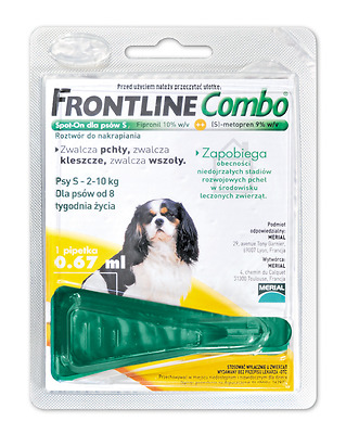 Frontline Combo Spot-on 1 pipet for dogs and cats Great Price