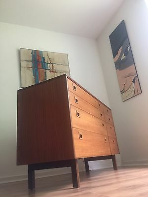 Vintage Mid Century Alfred Cox Chest Sideboard