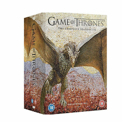 Game of Thrones 1-6 Season Complete DVD New Sealed Packaging Free Shipping!!!
