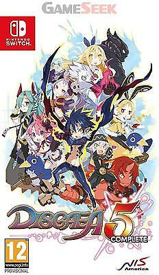 Disgaea 5 Complete - Nintendo Switch Brand New Free Delivery