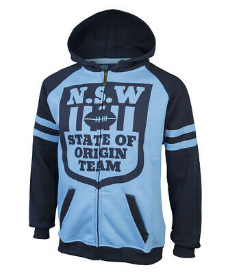 New South Wales NSW Blues State Of Origin Heritage Hoodie Hoody Size S-5XL! 6