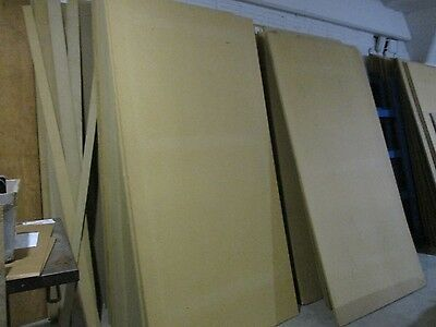 Lot of 50 MDF Panel Common Chipboard/ Press Wood Lumber 3/4 Inch X 4ft X 8ft