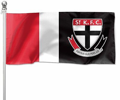 ST Kilda Saints AFL Flag Pole Flag 180 by 90cm