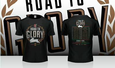 South Sydney Rabbitohs ISC  Road To Glory T Shirt S-3XL! 2014 NRL Premiers!