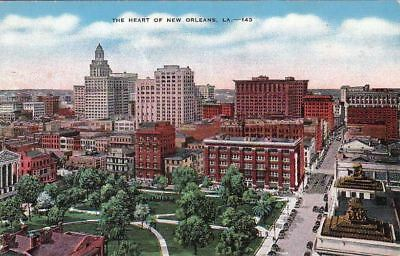 Postcard The Heart of New Orleans LA