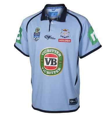 New South Wales Blues State Of Origin Classic Collar Jersey! BNWT's!5