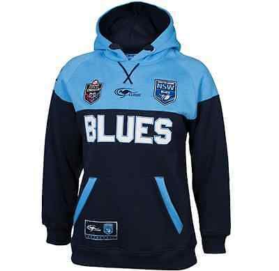 New South Wales Blues 2016 State Of Origin Hoody/Hoodie Kids & Infant Sizes 2-14