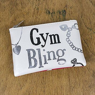 The Bright Side Gym Bling Jewellery Bag Purse NEW