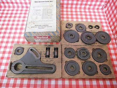 Genuine Myford metric conversion kit for Super 7 lathe boxed from Myford-Stuff