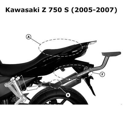 Kappa KZ444 Kawasaki Specific Rear Top Box Rack - Kawasaki Z 750 S (2005-2007)