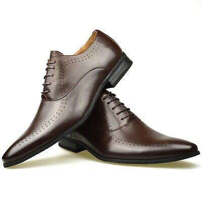 Mens Black Brown Leather Casual Smart Formal Chelsea Boots Shoes Ankle Size