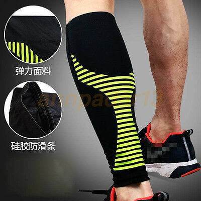 Tough Calf Compression Sleeve Support Leg Running Sock Medical Stretch  Guard
