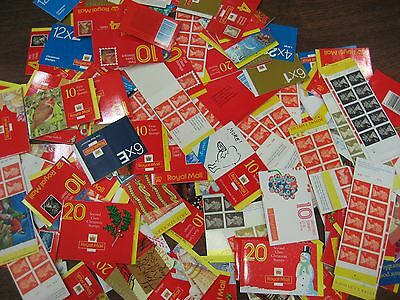 Stamps 98 Cylinder Barcode Booklet  Fv £508.00+ First Second Class Etc