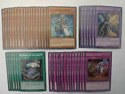 Invoked Deck * Ready To Play * Yu-gi-oh