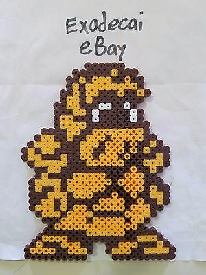 Gamm The Golem Little Samson Bead Sprite Perler Art Nintendo Retro Platformer