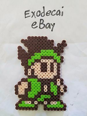 Little Samson Lickle Protagonist Bead Sprite Perler Art Nintendo Retro