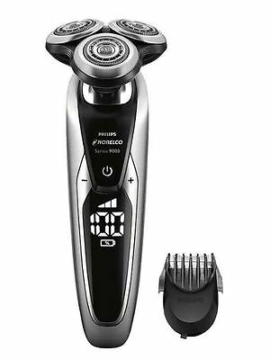 Philips Norelco Shaver 9800 Rechargeable W/ Beard & Stubble Trimmer,Travel Case