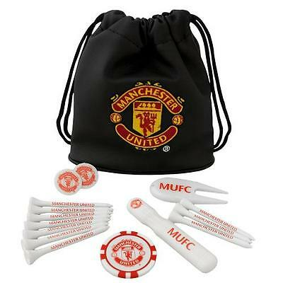 Manchester United Tote Bag Golf Gift Set New Official Licensed Football Product