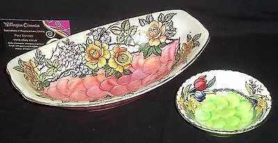 Maling ROSINE LUSTRE Fruit Bowl and Small SPRINGTIME Dish