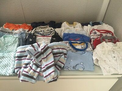 Baby Boy Bundle 0-3 Months 21 Items Various Brands Next/tu/bonjour Babe Used