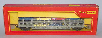 Triang Hornby R342 Bogie Car Transporter *rare French Issue Acho Couplings* Mib