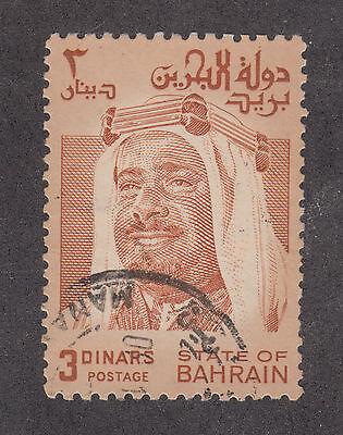 Bahrain Sc 240 used 1980 3d Sheik Isa, top value to set