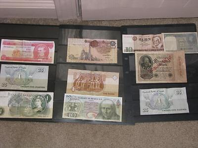 Lot of Foreign currency (most have been Folded), Lot F4