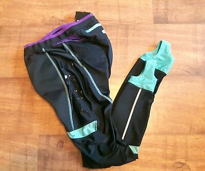 Muddyfox Pure Padded Cycling Tights Ladies Size L (14)