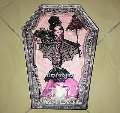 Monster High Draculaura Deluxe Collector doll new CHW66 NRFB NIB