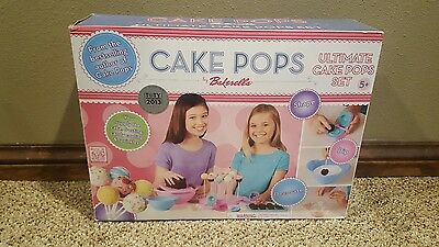 Ultimate Cake Pops Set by Bakerella Molds, Bowls, Forms Instructions NEW