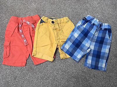 Boys Shorts, Next  & M&S 18-24 Months X3
