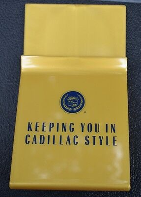 Vintage Cadillac Brochure Holder, Nos