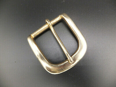 """1-1/4""""  32 mm SOLID BRASS SINGLE BELT BUCKLE Leather craft  1-2-5 -10 - 247"""