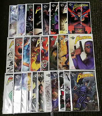 The Phantom #1-26 + Annual #1 Complete Moonstone Series Avg High Grade Lee Falk