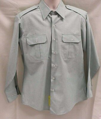 DSCP Army Men's Long Sleeve Dress Shirt