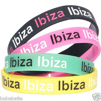 IBIZA PARTY HOLIDAY armband silikonarmband / armband armreif geschenk fashion