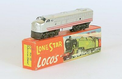 LONE STAR TRAIN 000 OOO N No. 12 AMERICAN DIESEL LOCO. VERY NEAR MINT BOXED