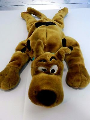 "*Large* SCOOBY DOO Talking Hug Me Pillow 26"" Plush Equity Toys Stuffed Animal"