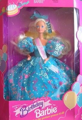 Collectors Edition Birthday Barbie 1993 - In original packaging