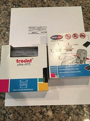 Two Trodat 4915 Notary Public Stamps