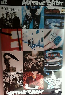 U2 ACHTUNG BABY Original Promo Poster 39x60 inch  FREE INT. SHIPPING