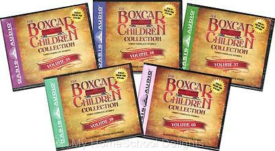 NEW 15 Audiobooks 5 BOXCAR CHILDREN COLLECTION Sets Volume 36-40  30 Audio CDs