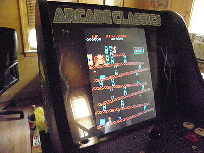 Arcade Classics 60-1  Ms. Pacman/galaga Tabletop  Machine! New!