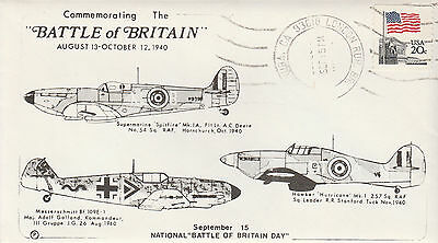 US stamps, FDC, WW2, Commemorating the Battle of Britain