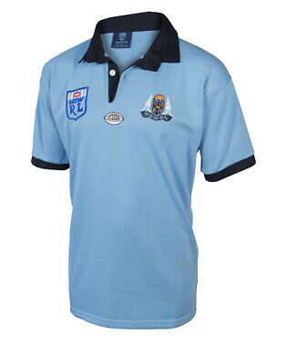 NSW Blues State Of Origin 1980s NSWRL Retro Jersey Adults & Kids Sizes!