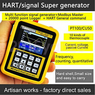 HART MR9270S 4-20mA Signal Generator Calibration Current Voltage Transmitter