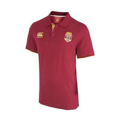 QLD Maroons State Of Origin 2017 CCC Classic Polo Shirt Mens & Ladies Sizes!