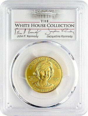 2015-W $10 Jacqueline Kennedy PCGS MS70 First Strike White House Collection