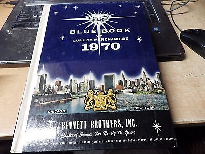 1970 Bennett Brothers Blue Book of Quality Merchandise - hardcover catalog